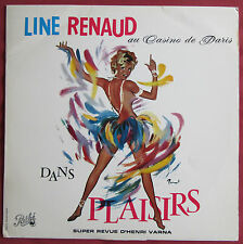 LINE RENAUD  LP ORIG FR  AU CASINO DE PARIS DANS PLAISIRS ART COVER BRENOT