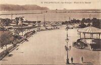 Algeria Postcard Philippeville, Le Kiosque, Place de la Marine DG3
