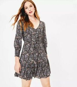 Women's Ex OASIS Paisley Mini Dress UK Size 8-10-12-14 RRP £48