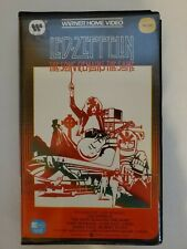 Led Zeppelin - The Song Remains The Same - Beta Hi-Fi Video Tape - Rare