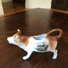 Vintage Cow Creamer Made in Germany Wartburg Castle Nice