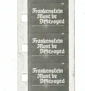 Super 8 Film Short - Frankenstein Must Be Destroyed (1969) - Peter Cushing