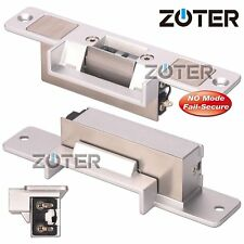 Electric Strike Door Lock NO Mode Fail Secure DC 12V DIY Access Control