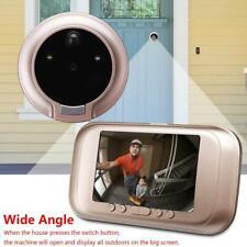 3.5in 720P Digital Door Bell Camera Video Peephole Viewer Zoom Video Recorder