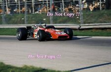 Silvio Moser Bellasi F1 70 italiano Grand Prix 1970 fotografía
