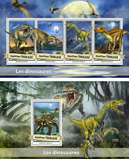 Dinosaurs Prehistoric Animals Fauna Togo MNH stamps set
