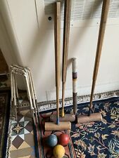 Vintage Quality Croquet Part Set