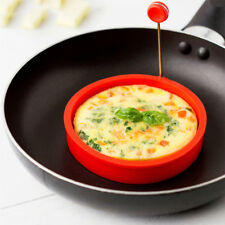 1 PCS Breakfast Round Silicone Egg Ring Silicone Fried Egg Ring Non-stick Omelet
