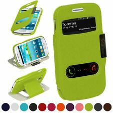 Booklet for Samsung Galaxy S3 Mini Protection Cover Cell Phone Case 360° Book