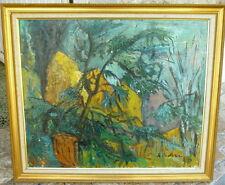 Rare peinture du grand artiste Iranien Homayoun SALIMI