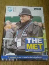 BBC & OPEN UNIVERSITY THE MET: POLICING LONDON DOUBLE SIDED POSTER BRAND NEW