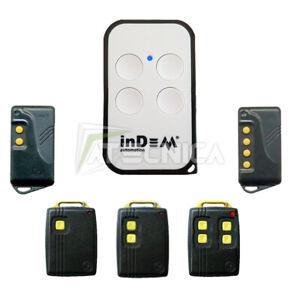 Telecomando universale InDeM compatibile FADINI ASTRO 78 quarzato 30mhz
