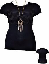 Rayon Short Sleeve Career Women's Tops & Blouses