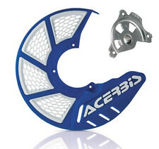 Acerbis X Brake 2.0 Front Disc Cover & Mount Yamaha YZ YZF WR WRF Blue