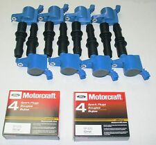 SET OF 8 REPLACEMENT HEAVY DUTY IGNITION COIL DG511B & MOTORCRAFT PLUGS SP515