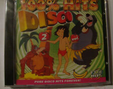 Disco 100% Hits, volume 2 ( CD, NEW, 17 popular tracks, Factory Sealed )