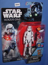 """Star Wars 2016 IMPERIAL STORMTROOPER Rogue One 3.75""""  Figure MOC"""
