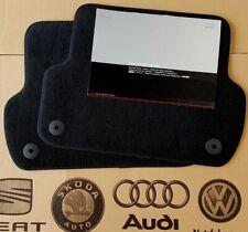 Audi A4 8E B6 B7 original Fußmatten hinten Veloursmatten S4 RS4 Stoffmatten