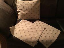 3 Kissenhüllen LINUM Seide/Cotton 40x40 Reißverschluss Kissenbezug Beige Braun