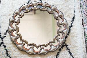 Large mirror circle Mirror Moroccan Brass mirror boho mirror decorative Mirror