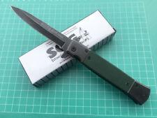 SOG Knife Assisted Opening Folding Pocket Knife Sharp Stone Wash Travel Saber cj