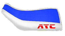 Honda ATC 250SX Blue White Logo ATV Seat Cover TG20184399