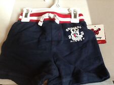 Disney Jumping Beans Mickey Mouse 18 months Navy Blue Shorts New