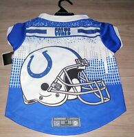 NFL Indianapolis Colts Pet Performance T-Shirt Size Medium Dog Tee Jersey