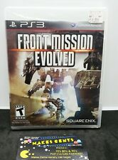 Front Mission Evolved PS3 Playstation 3 Video Game USA Version GAME BRAND NEW