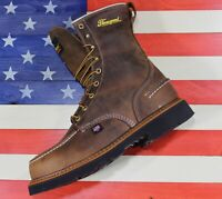 "Thorogood American Heritage 8"" Waterproof Soft Toe Boots [814-3898] Made in USA"
