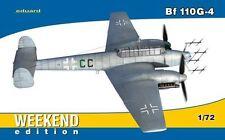 Eduard 1/72 Messerschmitt Bf110 G-4 - edición de fin de semana # 7422