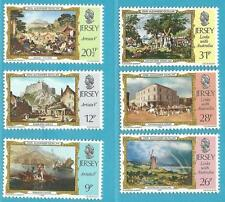Großbritannien-Jersey aus 1984 ** postfrisch MiNr.334-339 - Historische Verbind.