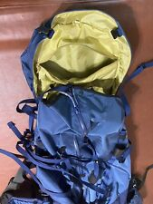 New listing Arc'teryx Bora 95 L Blue Black Expedition Camping Hiking External Frame Backpack
