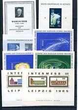 DDR - Blocklot ** aus 1960 - 1969 - KW 49,-- € ( 38329 )
