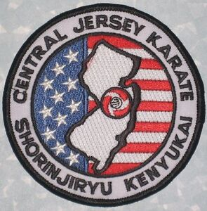 Central Jersey Karate Patch - ShorinJiryu Kenyukai - Martial Arts