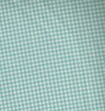 Tiny gingham sky blue checks Michael Miller  fabric