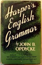 Opdycke, John - Harper's English Grammar - 1941 - 1st/HC/VG+ - nice!