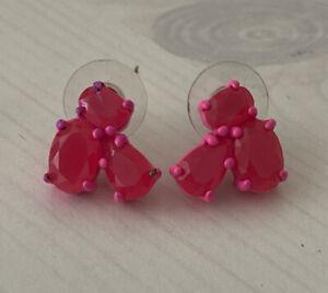 Kate Spade Pink Crystal Stud Earrings
