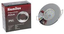 6X LED Badeinbaustrahler Ultra Flach 5W IP65 Einbauleuchte Bad Einbauspot 230V