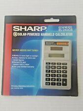 Sharp Solar Powered Elsi Mate EL-243CB Handheld Calculator NEW