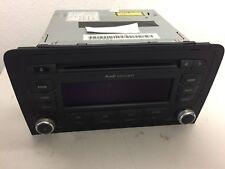 Original Audi A3 Concert MP3 CD Radio 8P0 035 186 G mit Radio CODE