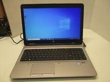 """T01-HP Laptop ProBook 650 G2 15.6"""" i5-6300U-2.4GHz 8GB 128GB SSD Win10 1920X1080"""