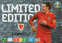 PANINI ADRENALYN XL UEFA EURO 2020 GARETH BALE LIMITED EDITION CARD - WALES
