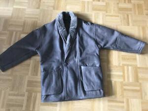 The Original Shearling Coat, Lederjacke, Leder, Pelz Gr.52/XL