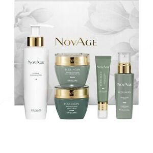 Oriflame NovAge Ecollagen Wrinkle Power Set 5 pcs Mom Grandma Luxury Gift 42489