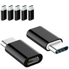 5 Pack USB 3.1 Type C Male to Micro USB Female Adapter Converter Connector USB-C