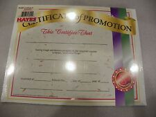 NIB Certificate of Promotion, package of 36. by Hayes School Publishing
