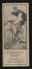 1924 V122 Willard's Chocolates SPORTS CHAMPIONS #41 Orlando Piani (Cycling)