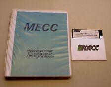 Dataquest: Middle East & No. Africa by MECC for Apple II Plus, IIe, IIc, IIGS