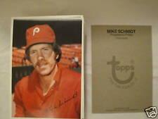 LOT(75)1980 TOPPS SUPER MIKE SCHMIDT,VENDING CASE FRESH
